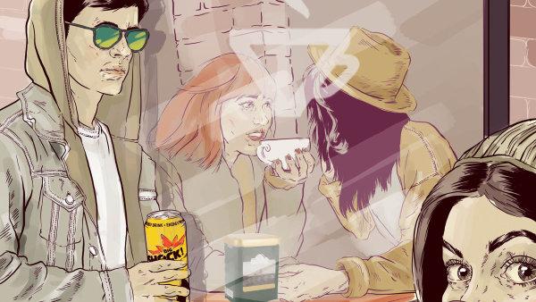 Firma Al-Namura naučila české řidiče pít energetické nápoje a kafe z plechovky.