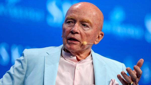 Mark Mobius, portfolio manažer investiční společnost Franklin Templeton.