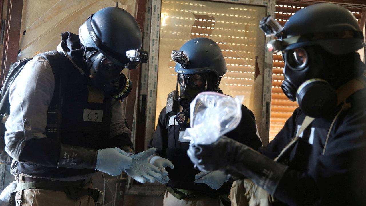 Chemický útok, Sýrie