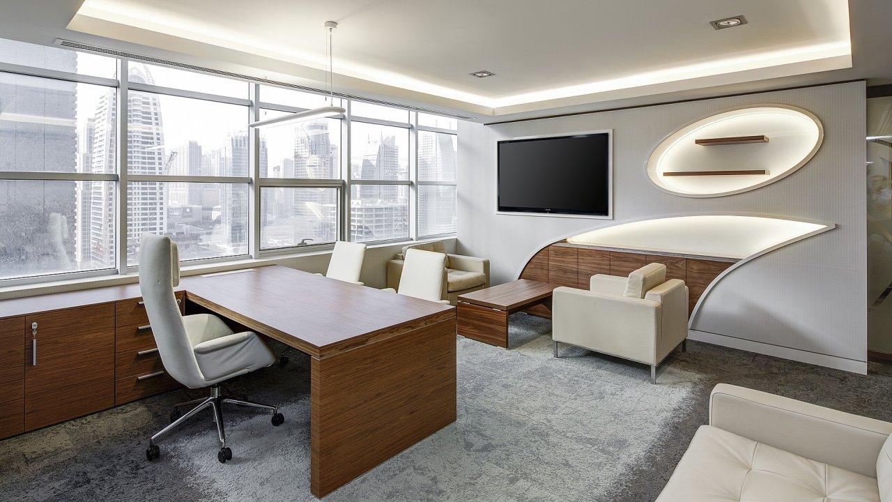 Pracovní místo, kancelář, ilustrační foto