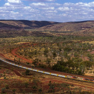 ilustrační foto – Nákladní vlak společnosti Rio Tinto v Západní Austrálii.