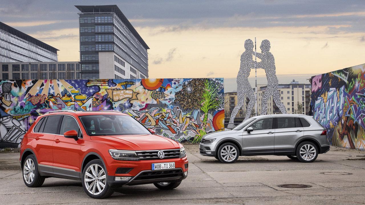 Volkswagen Tiguan v Praze