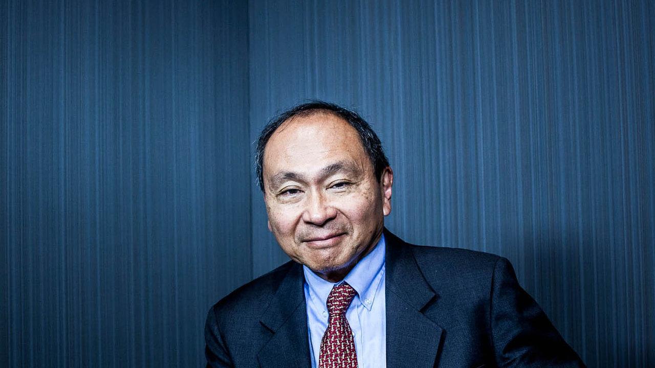 Yoshihiro Francis Fukuyama se proslavil knihou Konec dějin a poslední člověk (1992). Nyní vydal nové dílo Identity.