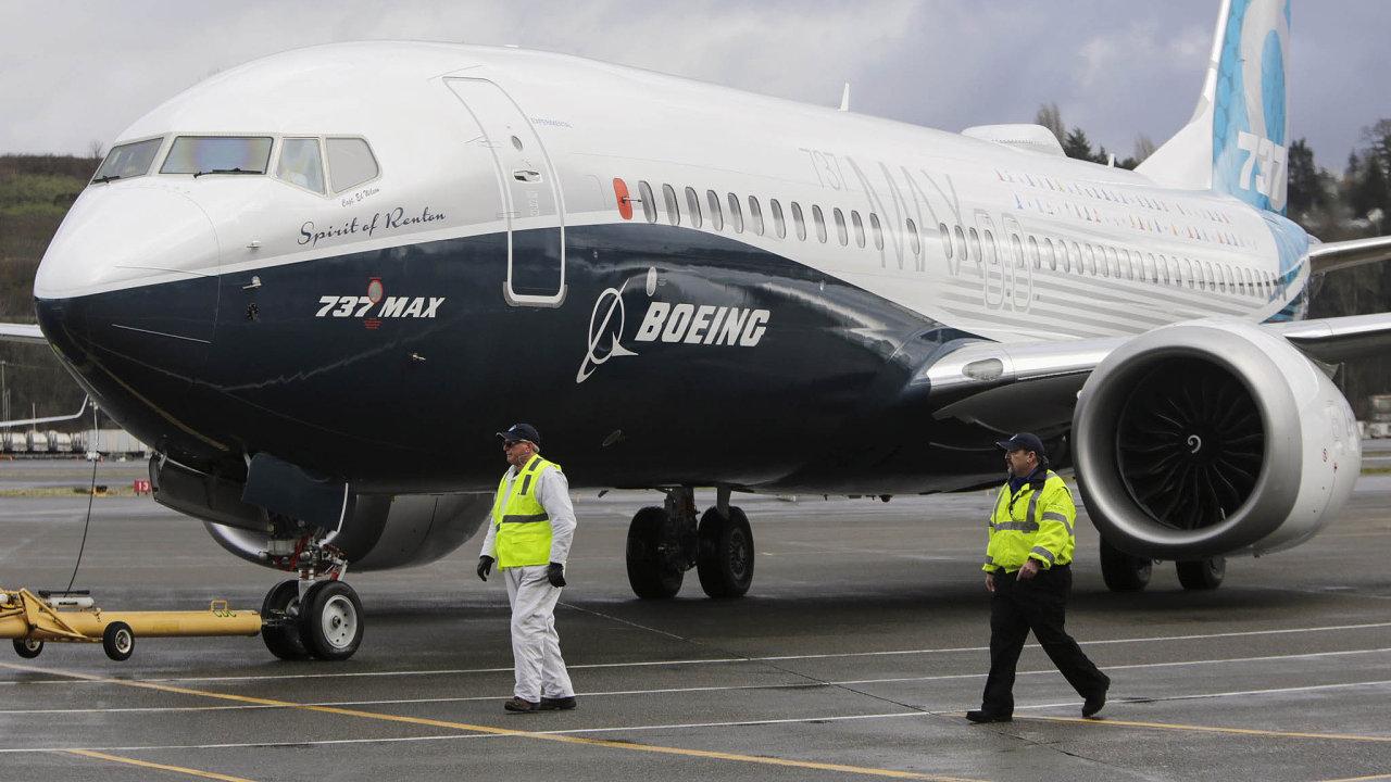 Evropská agentura pro bezpečnost letectví (EASA) pozastavila provoz letadel Boeing 737 Max 8 aMax 9.