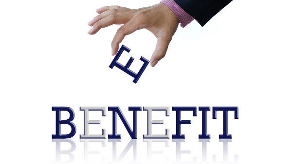 Benefit - ilustrace