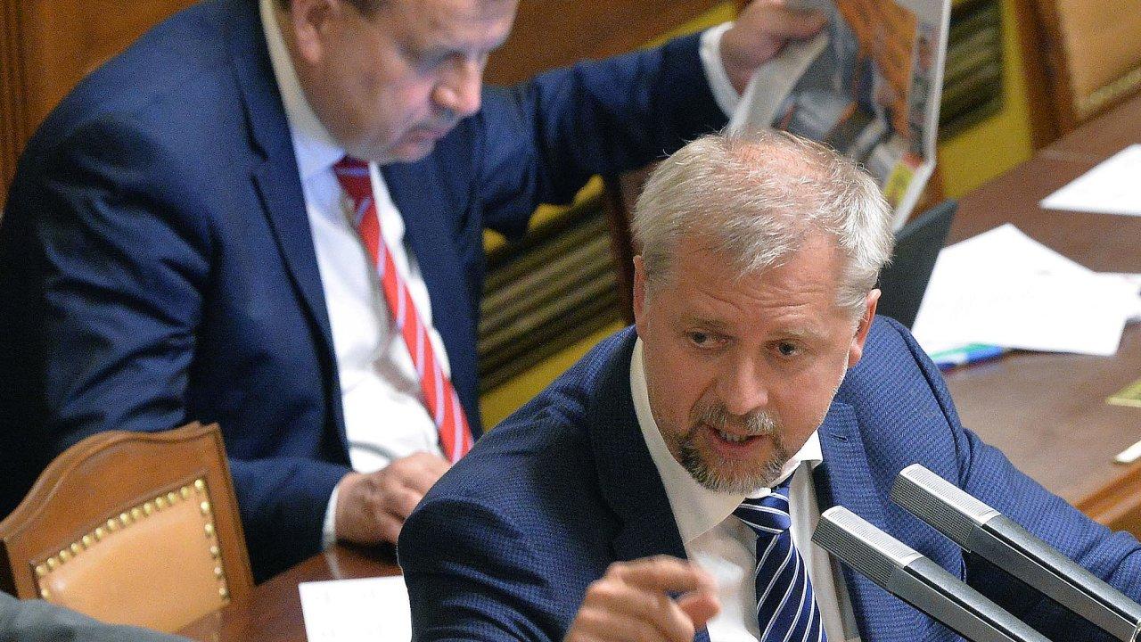 Opět jsem tu. Petr Bendl (ODS) je znovu v lavicích Poslanecké sněmovny.