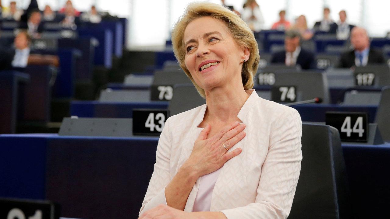 Ursula von der Leyenová se postaví do čela EK.