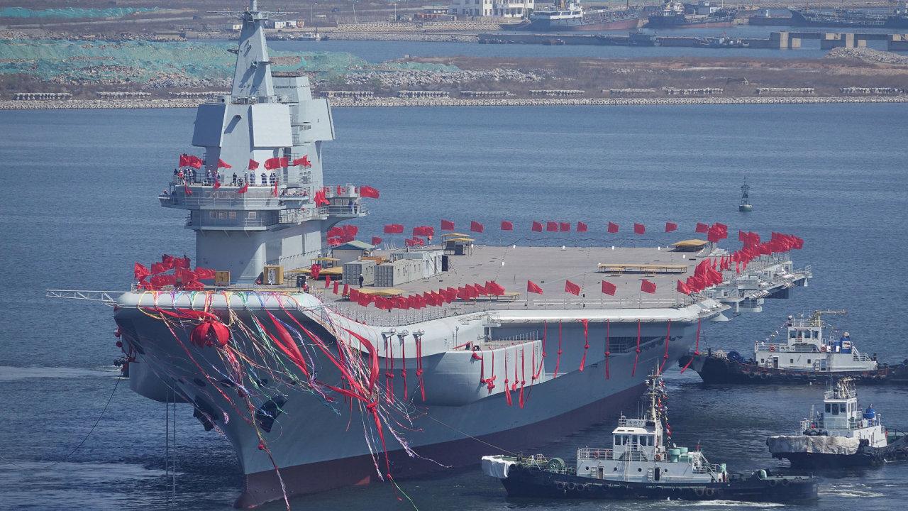 Letadlová loď, Čína
