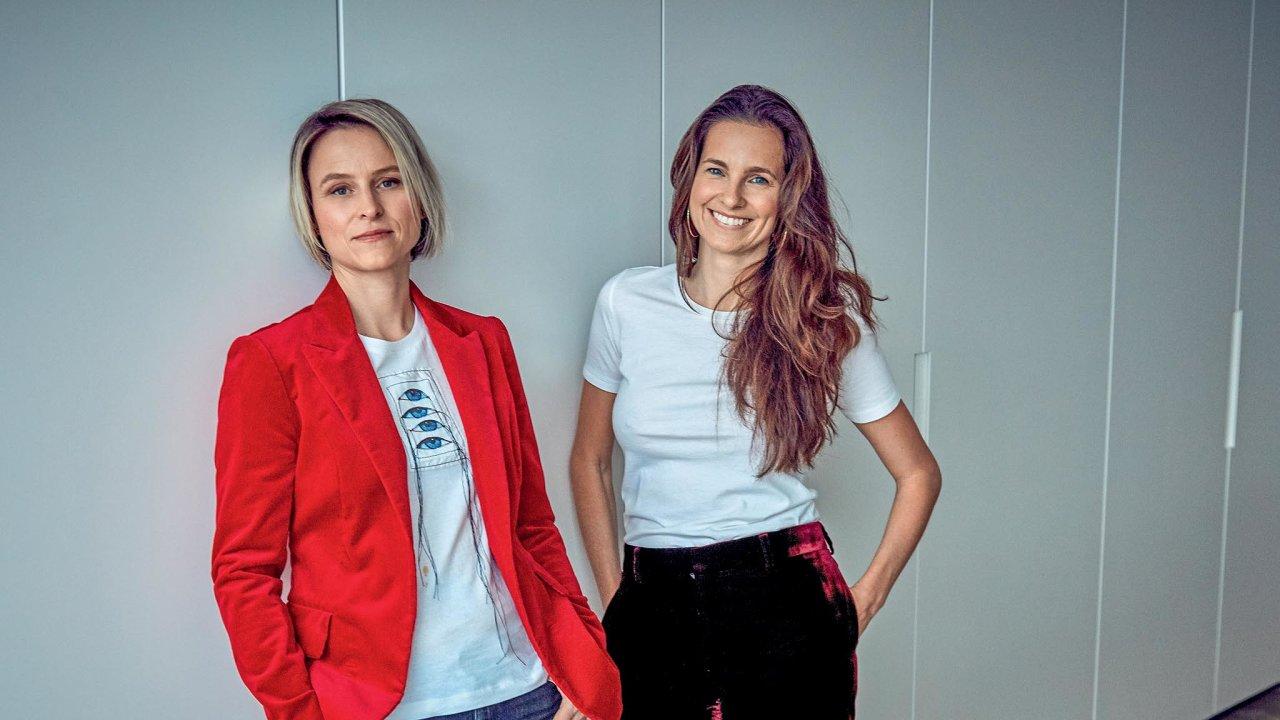 Kristina Ghiuri (vpravo) a Darina Muchová