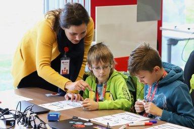 Program Red Hat KiCo (Kids Coding Academy) může využít kterákoliv základní škola v České republice