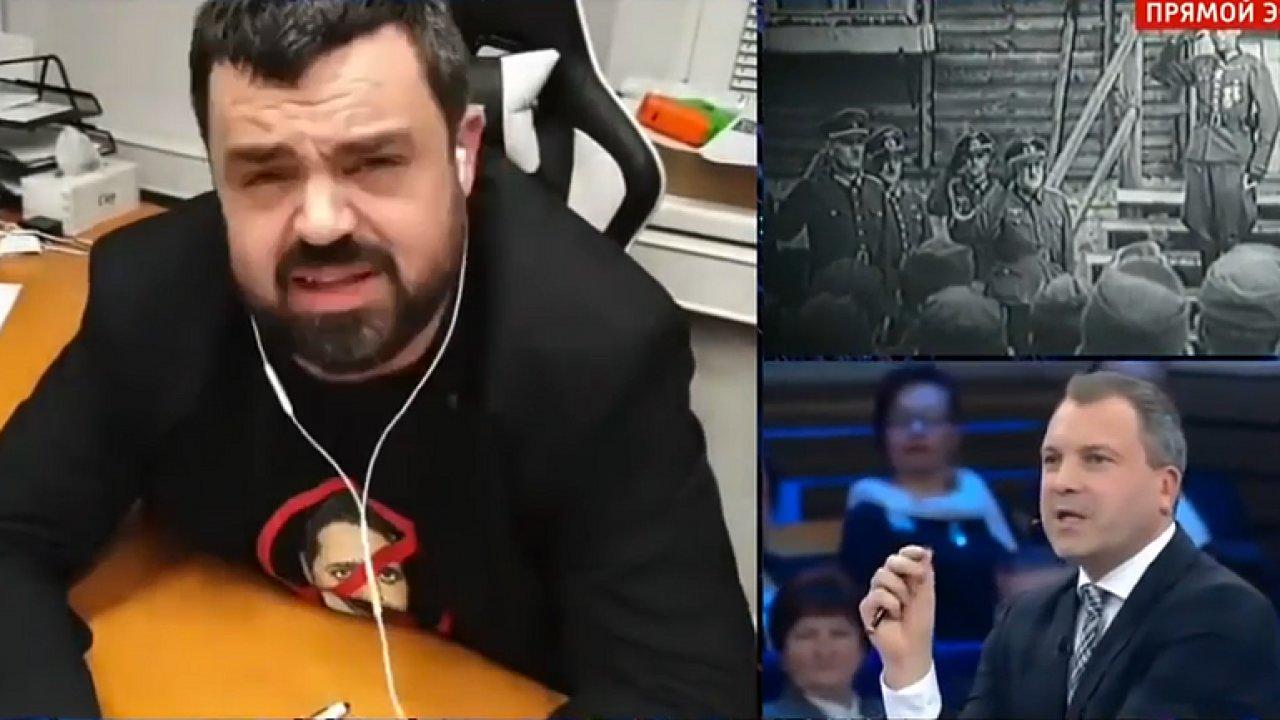 Vystoupení starosty Novotného ve sledovaném pořadu 60 minut státní ruské televize Rossija 1