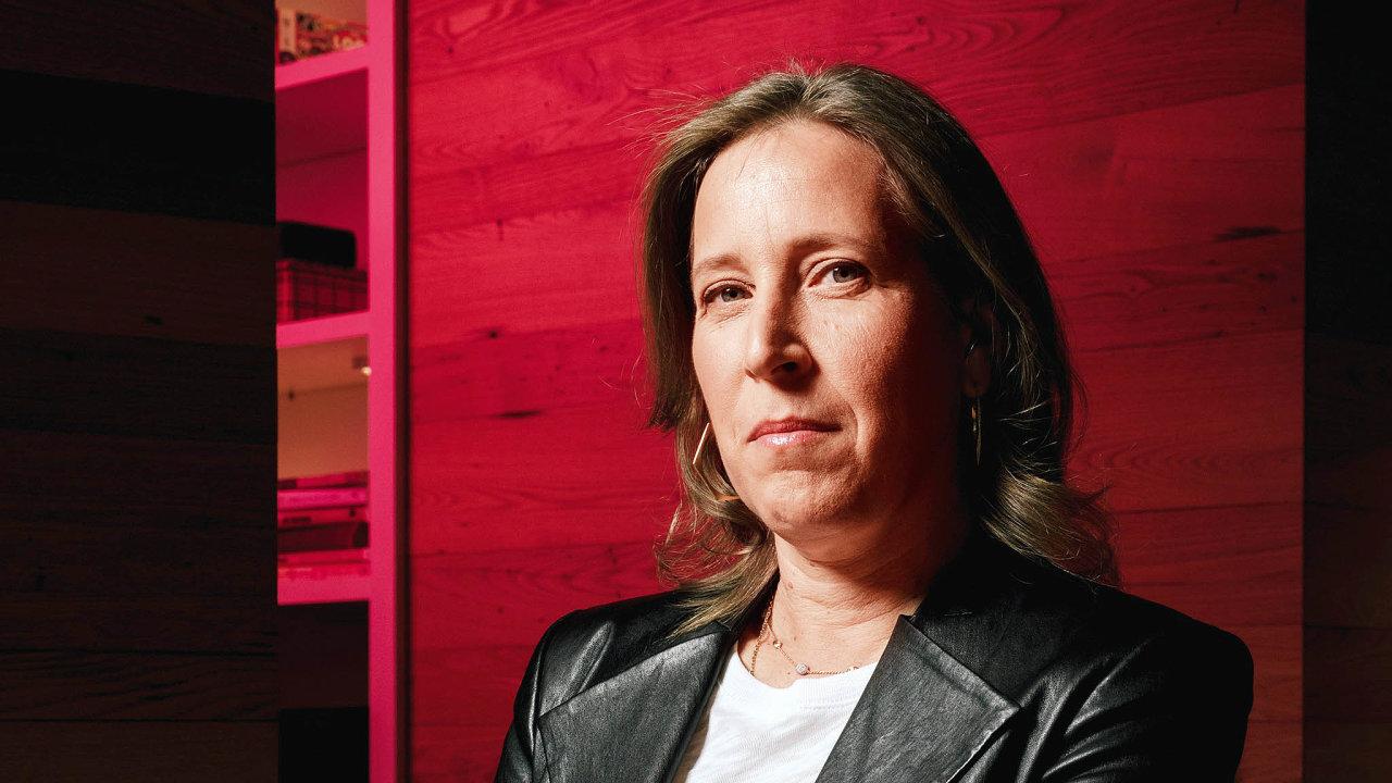 Ředitelka YouTube.com Susan Wojcická