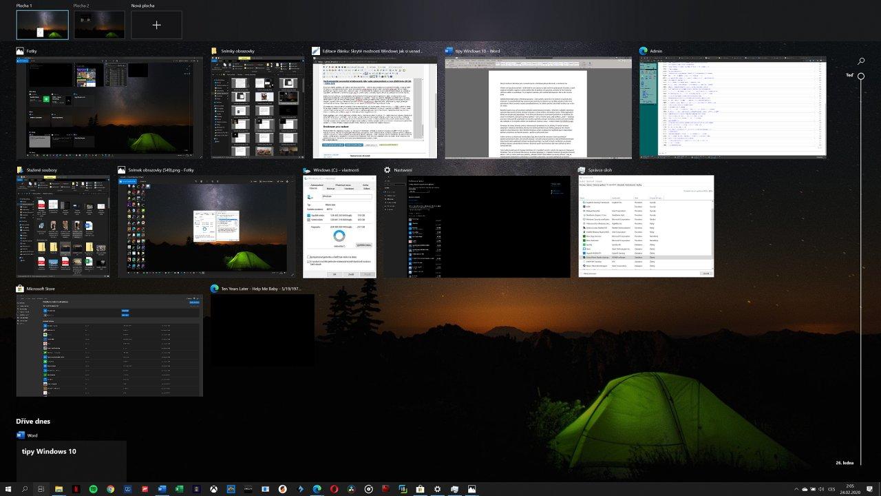 Tipy a triky pro efektivnější práci ve Windows 10