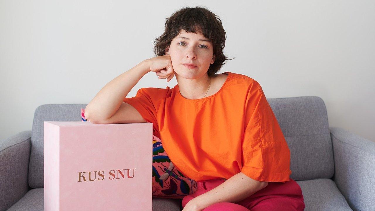 Tereza Rosalie Kladošová s cenou pro vítěze Czech Grand Design 2019