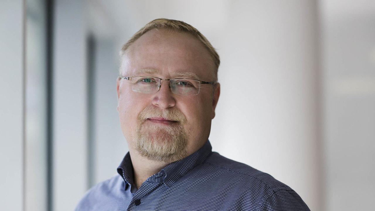 Šéf internetové skupiny Miton David Špinar.