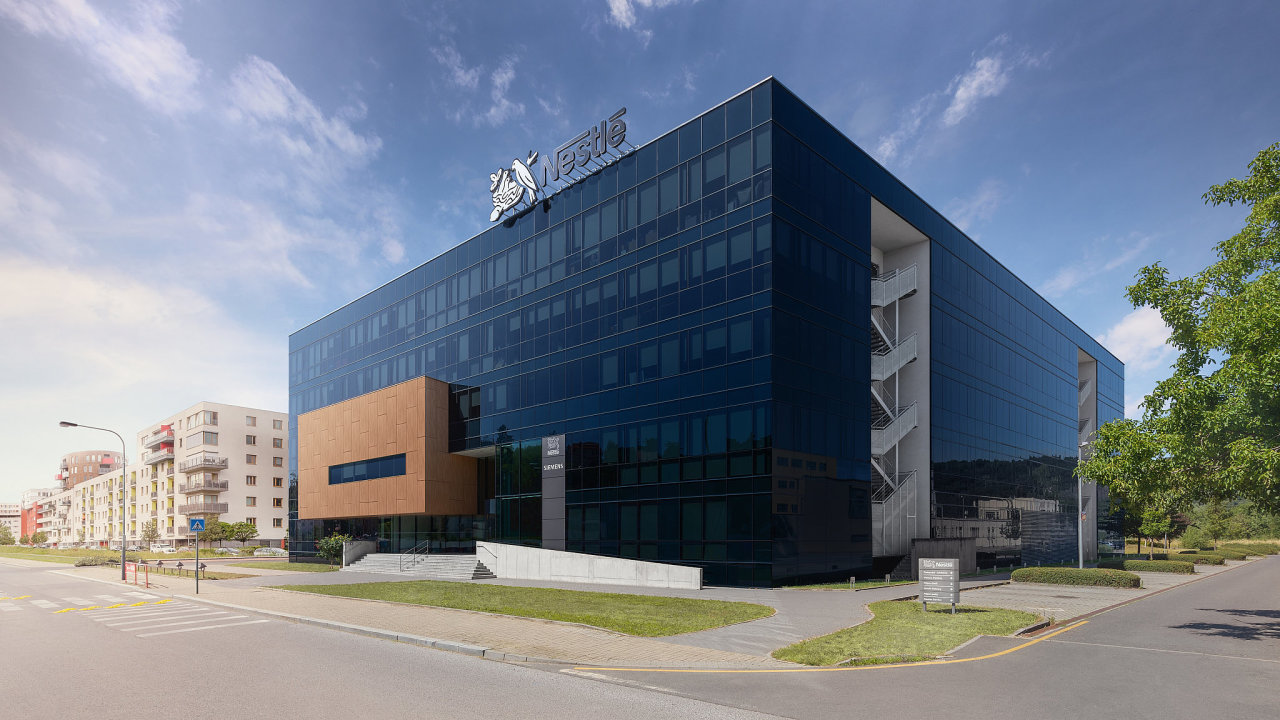 Budova Nestle