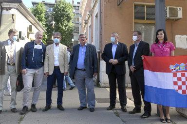 Chorvatský ministr vítal první vlak s českými turisty. Doufá, že turistů ještě přibude
