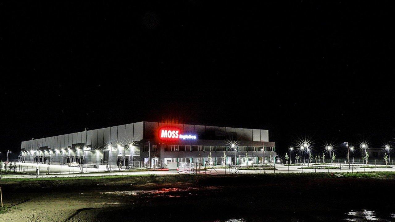 Novy logistický areál Moss Logistics v Hustopečích