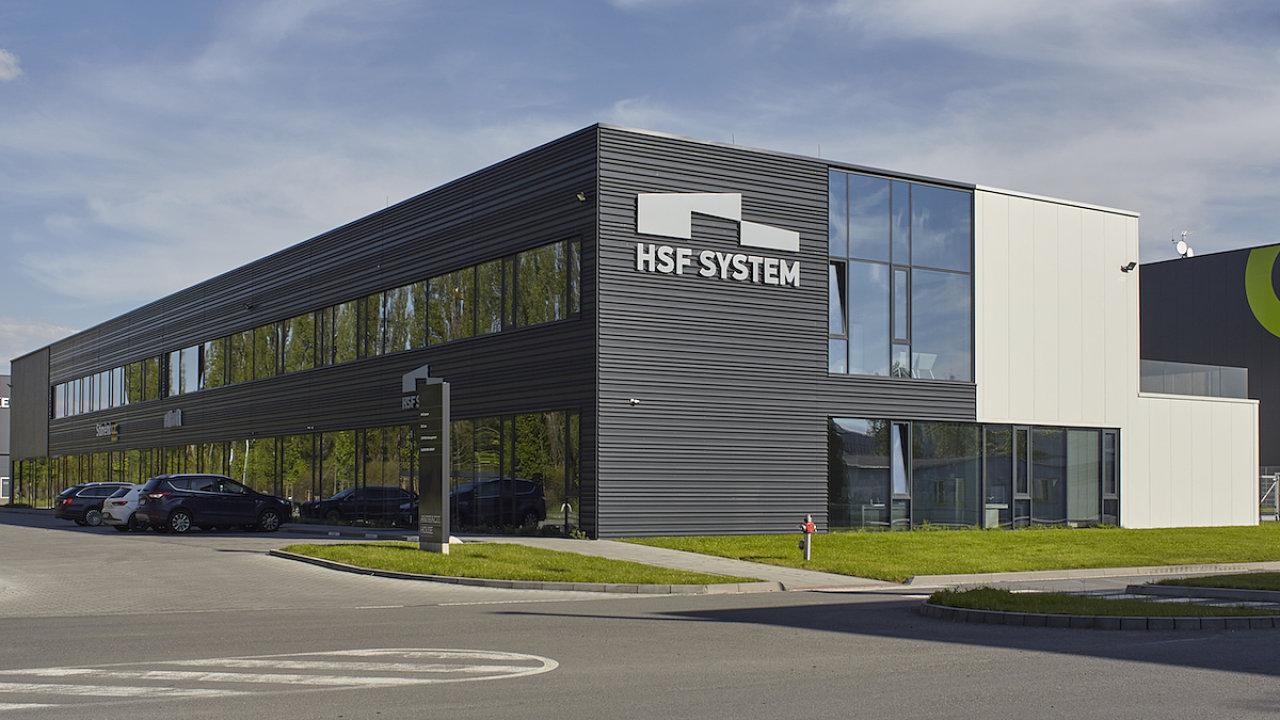 Sídlo společnosti HSF System v busově Antracit House na brownfieldové ploše v průmyslové zóně v Ostravě-Kunčičkách.