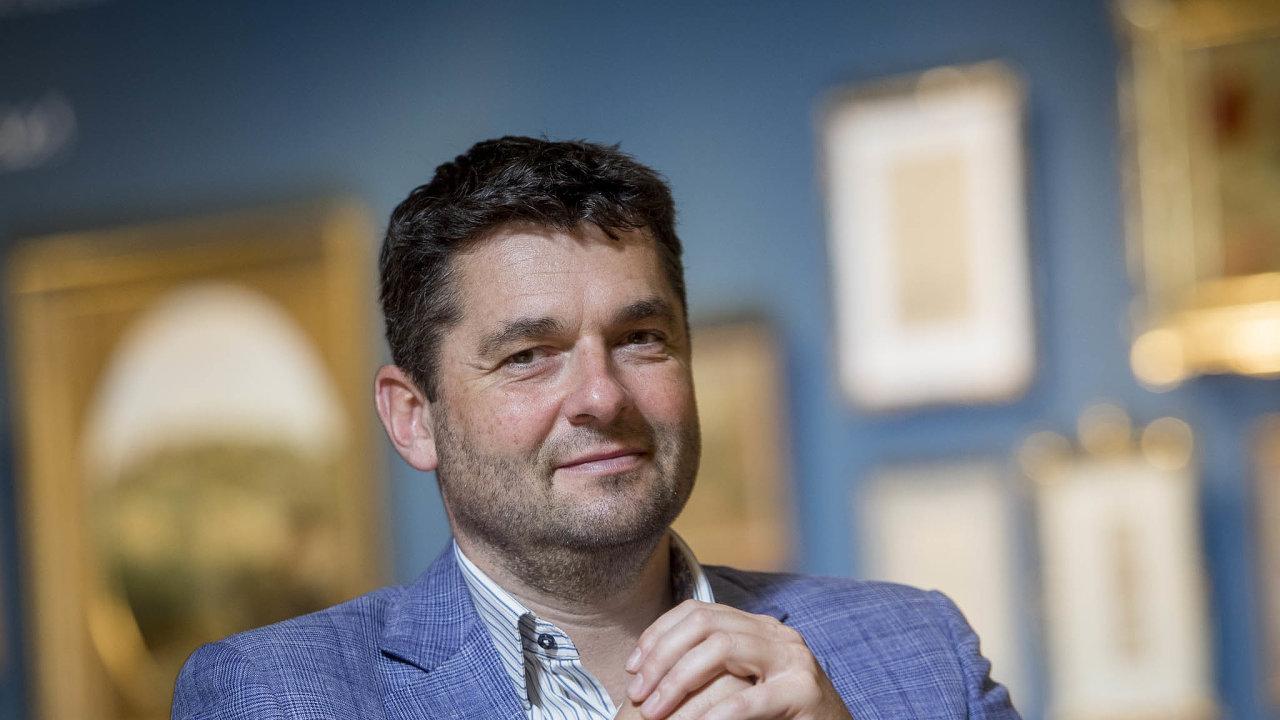Martin Diviš,generální ředitel pojišťovny Kooperativa