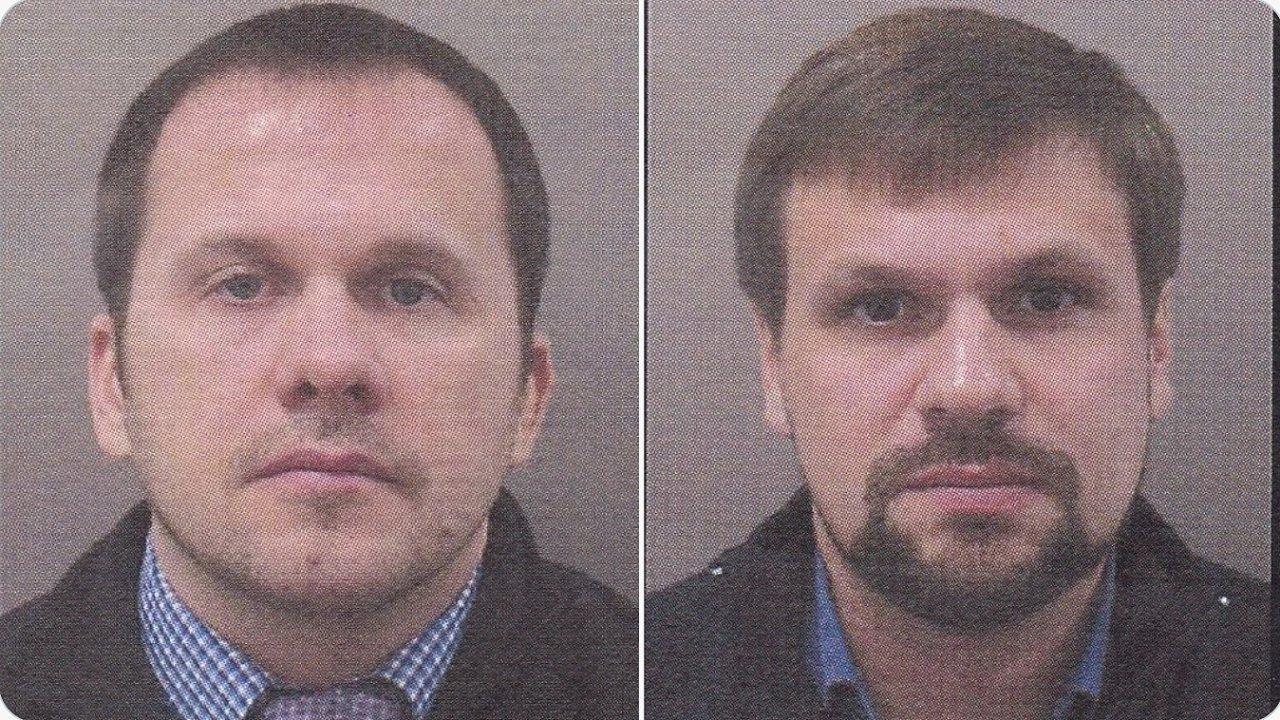 Dva muži, po kterých pátrá policie v souvislosti s výbuchem ve Vrběticích.