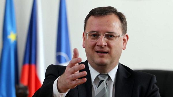 Petr Ne�as, premi�r �R