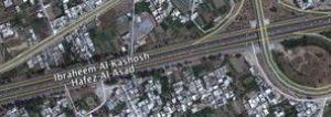 Přejmenovaná ulice v Damašku