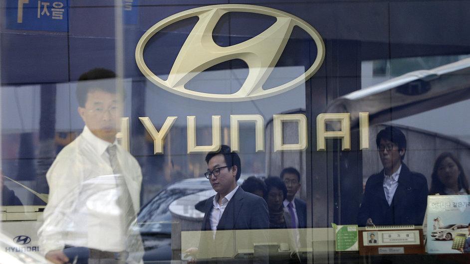 Automobilka Hyundai - ilustrační foto