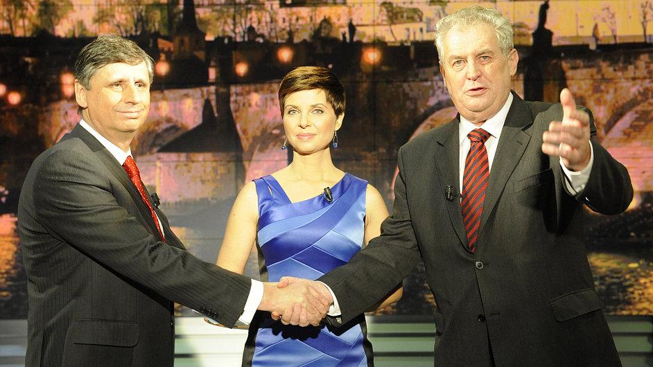 Prezidentská debata na TV Nova