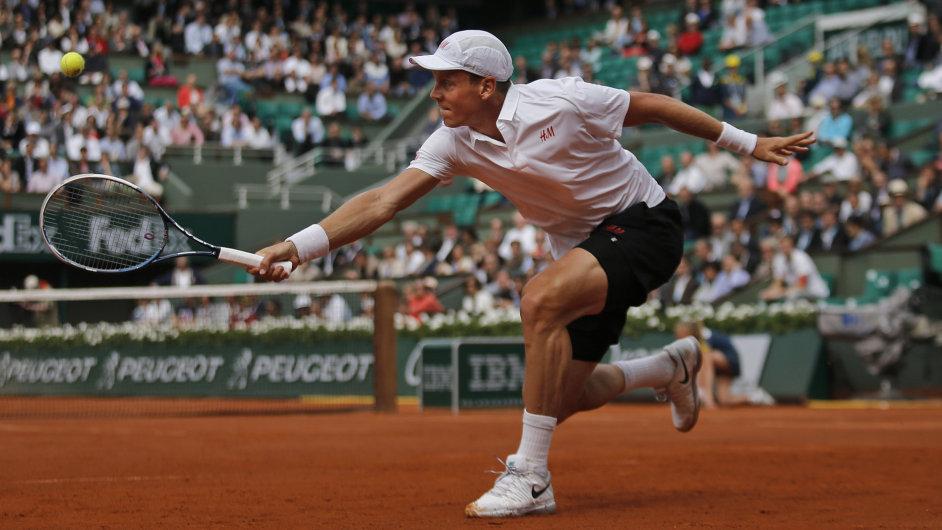 Tomáš Berdych na French Open