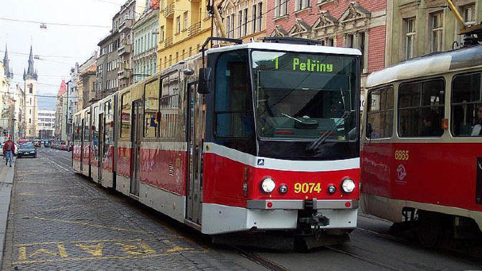 ilustrační foto: tramvaj Modernizovaná tramvaj KT8D5RN s vloženým nízkopodlažním dílem