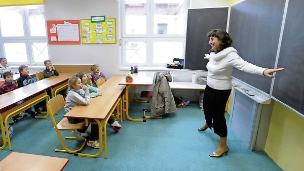 Pedagogové tvoří největší část zaměstnanců placených ze státního rozpočtu - Ilustrační foto.