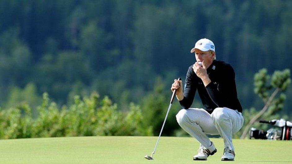 Golfista Marek Nový