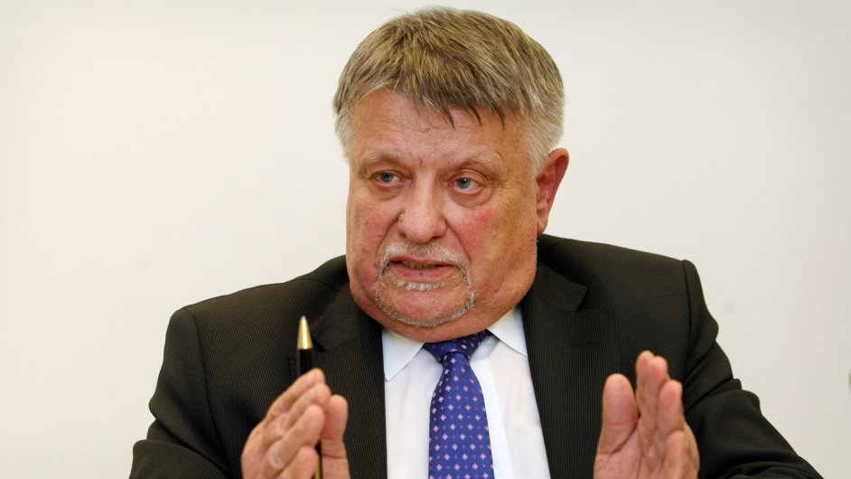 Generální ředitel plzeňské Škody JS Miroslav Fiala.
