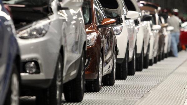 Automobilový průmysl - Ilustrační foto.