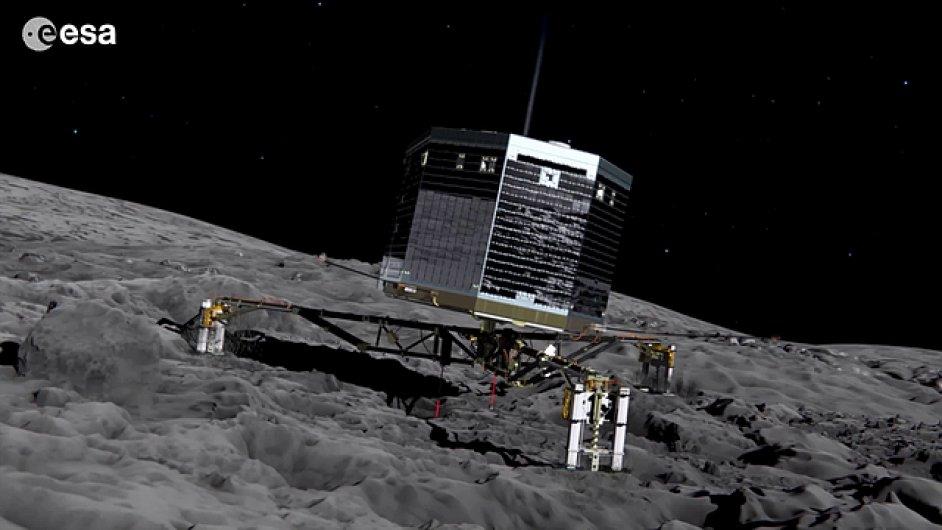 Philae na kometě 67P