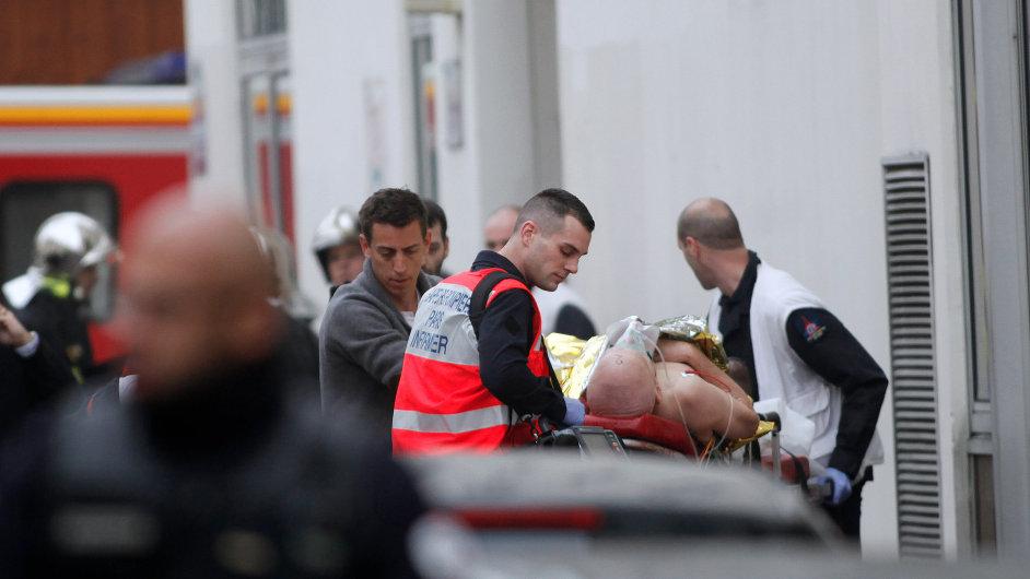 Útok na francouzský satirický týdeník Charlie Hebdo