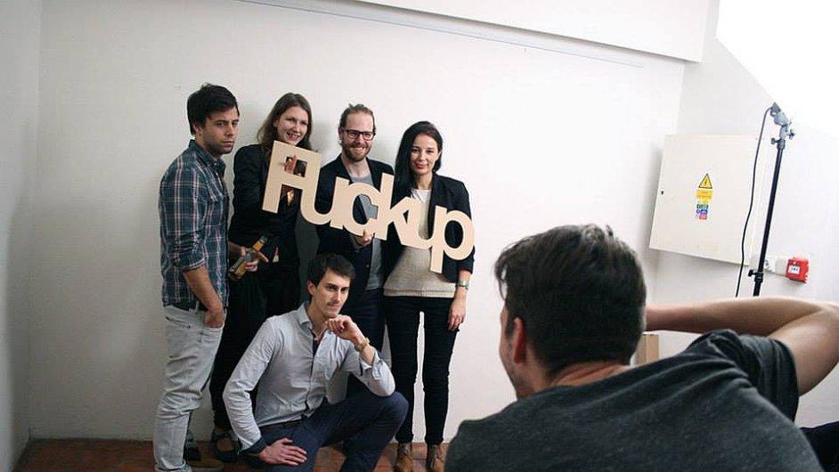 Projekt FuckUp Nighs odstartoval i v Česku.