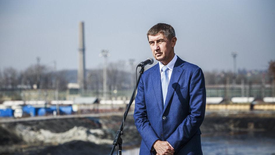 Andrej Babiš v Ostravě.