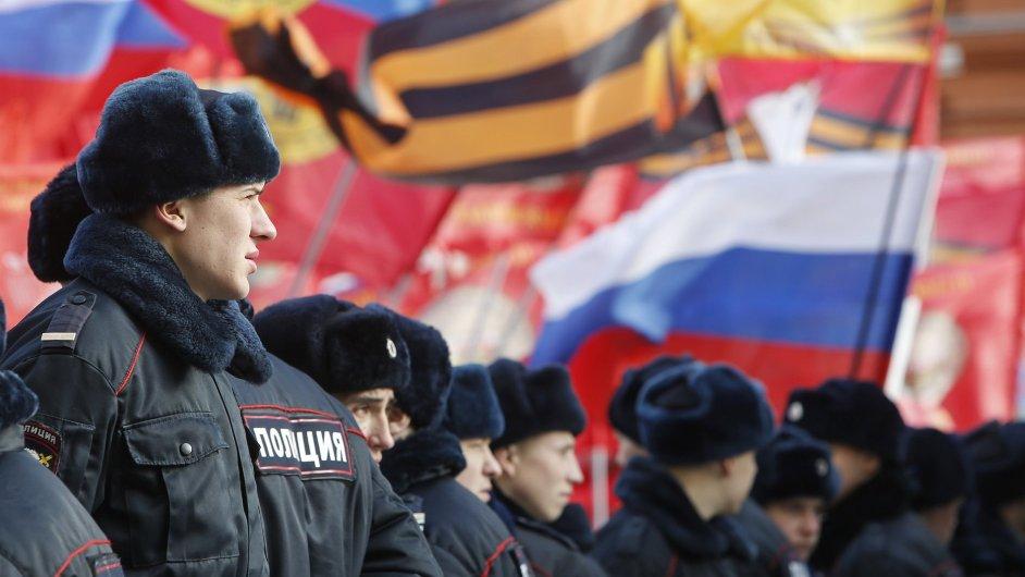 Účastníci pochodu Antimajdan (ilustrační foto)