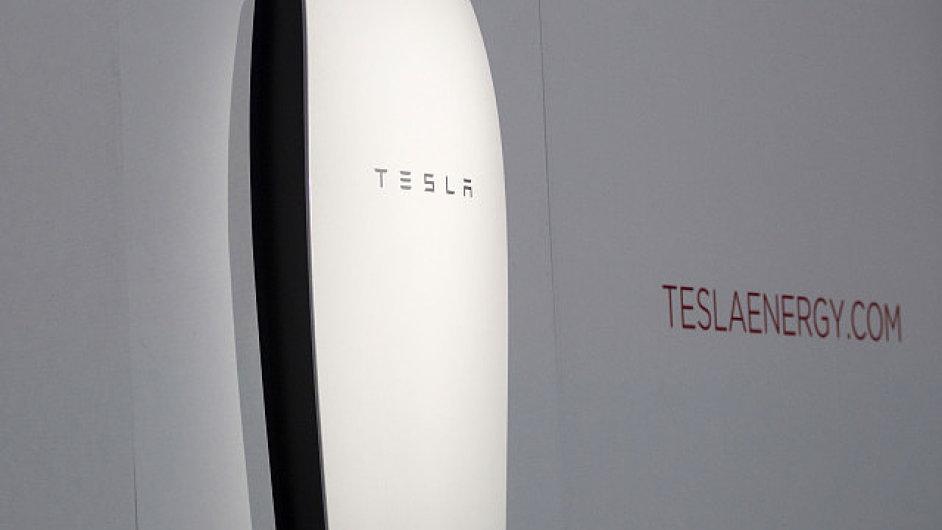 Tato lithium-iontová baterie je určená k namontování v garáži nebo na stěně domu.