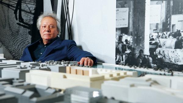 """""""Na počátku bylo těžké přesvědčit lidi, aby tu začali podnikat, aby si otevřeli kavárnu, dílnu, nikomu se sem nechtělo,"""" vzpomíná Serge Borenstein."""
