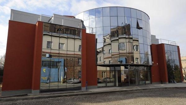 Budova televize Barrandov.