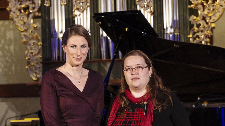 Cena Neuron, Jana Dobrovolná (vlevo), Anna Fučíková (vpravo)