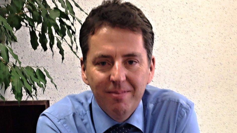 Jiří Jirásek, generální ředitel Českomoravské záruční a rozvojové banky (ČMZRB)