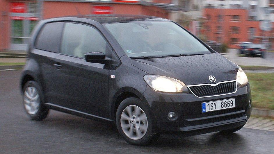 Škoda Citigo s nejslabším motorem se dá pořídit výhodněji než dříve.