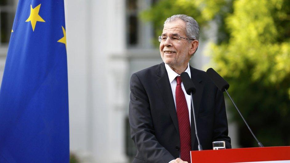 Nově zvolený rakouský prezident Alexander Van Der Bellen