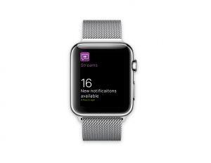 IFS Streams na Apple Watch 3