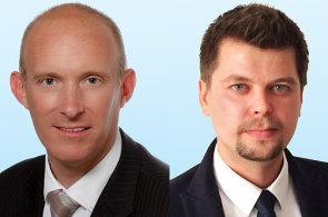 Mark Robinson a Tomáš Szilágyi, společnost Colliers International