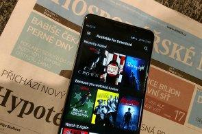Zábava v letadle, vlaku i metru: Netflix vám umožní stáhnout si filmy a seriály předem